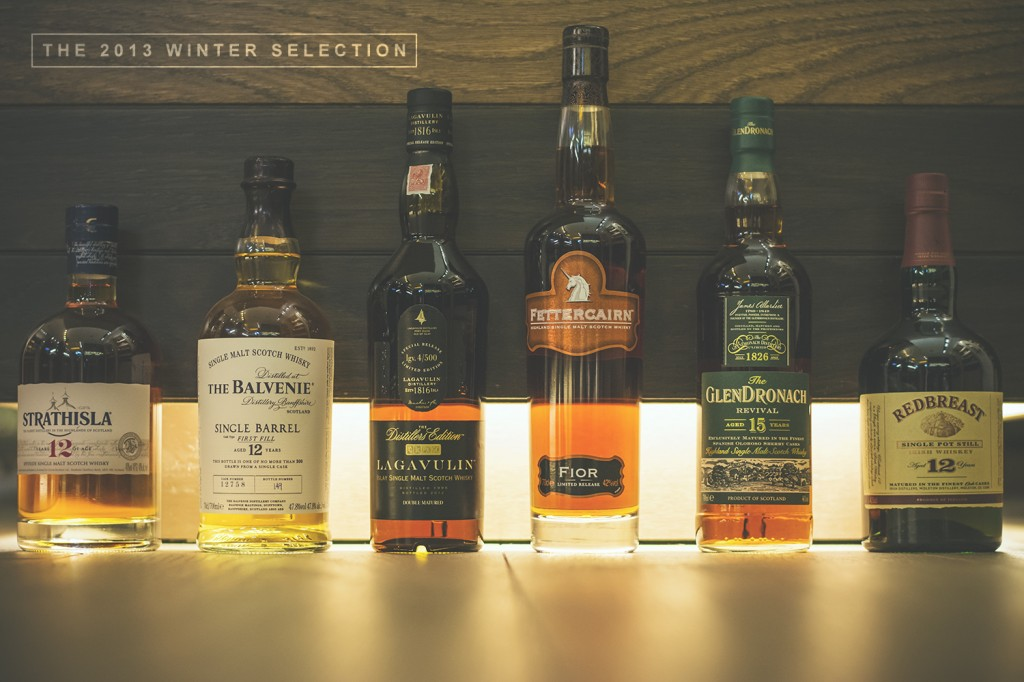 winter whisky selection
