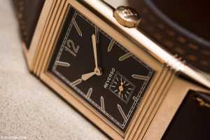 grande reverso ultra thin 1931 chocolate dial