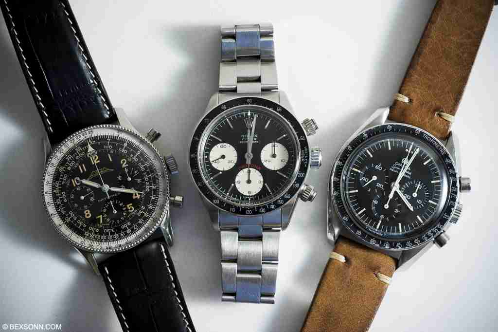 iconic vintage chronographs
