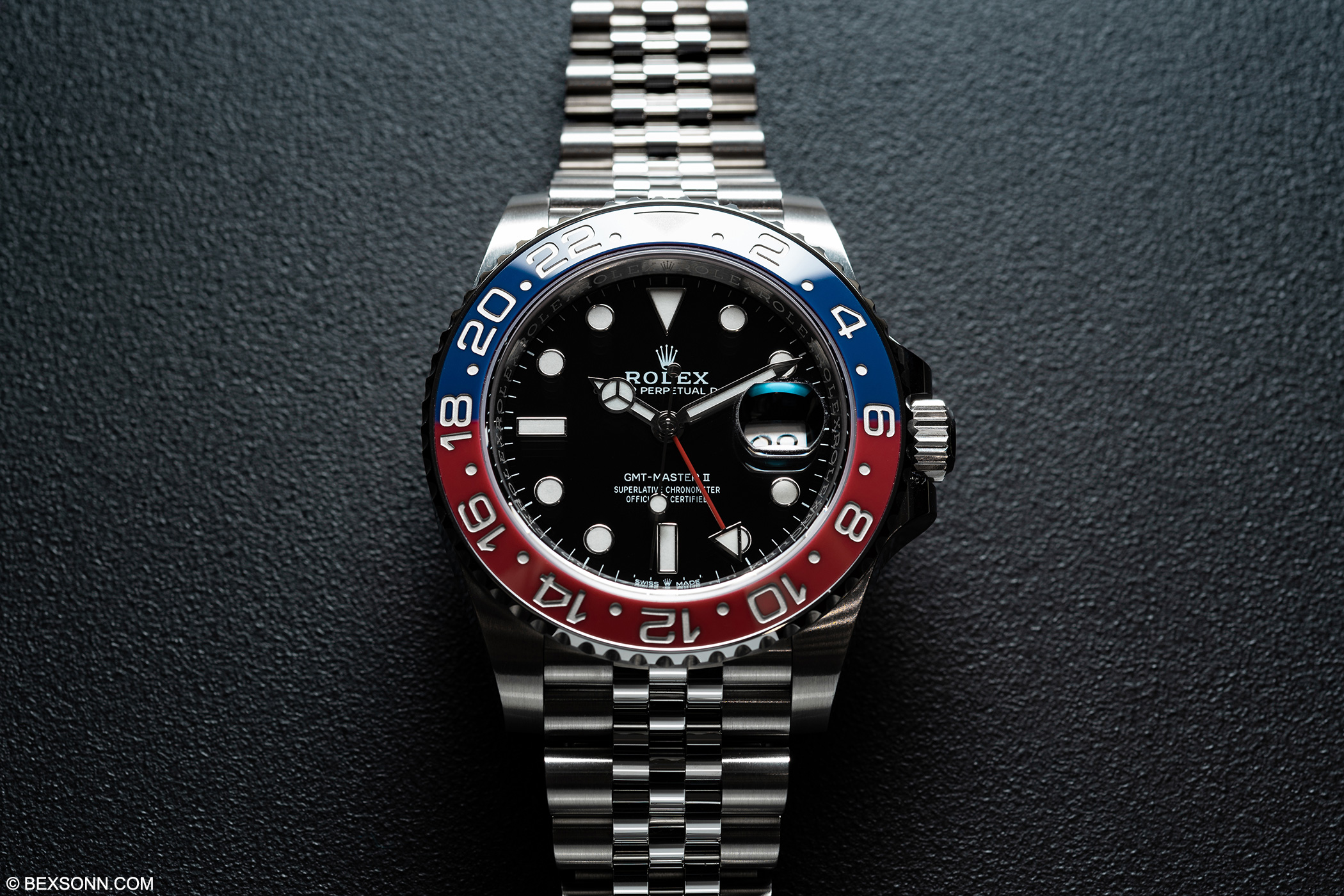 The New Steel Rolex Gmt Master Ii Pepsi Bexsonn