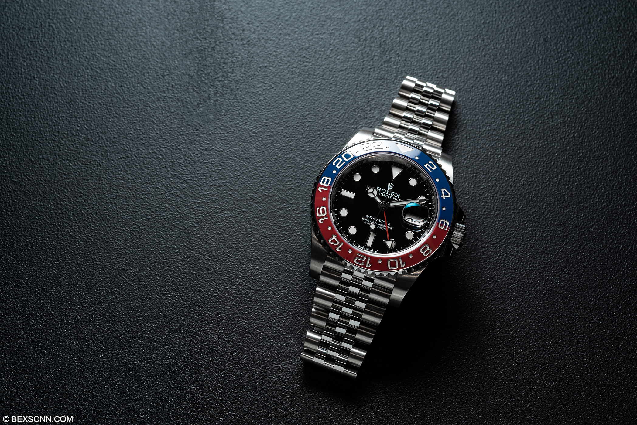 7001b88a6a5 What Rolex had to do is to come up with a way of making the Cerachrom bezel  out of one solid piece. Rolex does this by creating a red ceramic bezel  inlay, ...